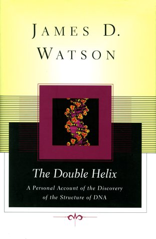 Double Helix A Personal Account of the Discovery of the Structure of DNA  1998 edition cover