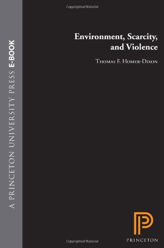 Environment, Scarcity, and Violence   1999 edition cover