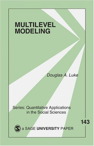 Multilevel Modeling   2004 edition cover