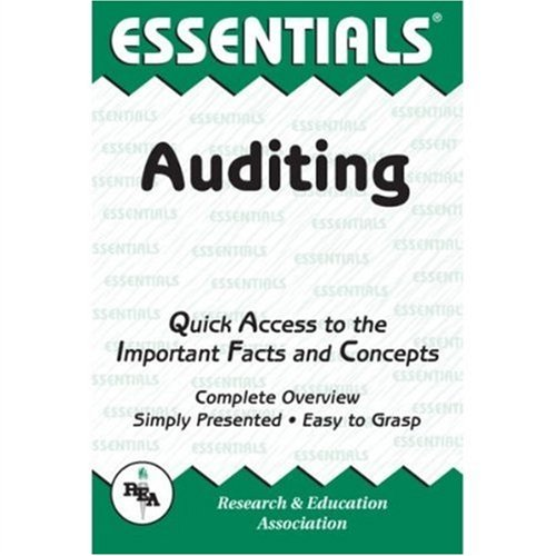 Auditing Essentials   2003 (Revised) edition cover
