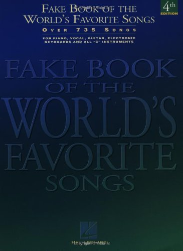 Fake Book of the World's Favorite Songs C Edition 4th (Revised) edition cover