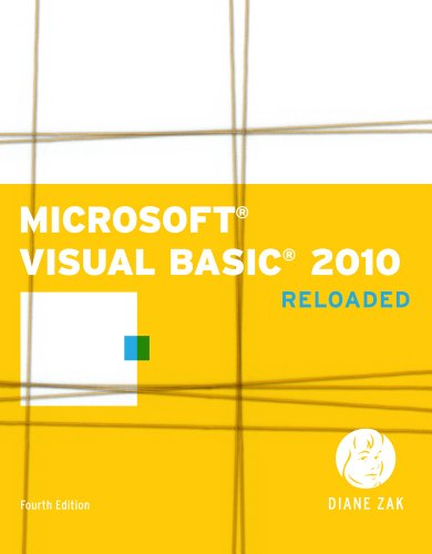 Microsoft� Visual Basic 2010 Reloaded 4th 2011 edition cover