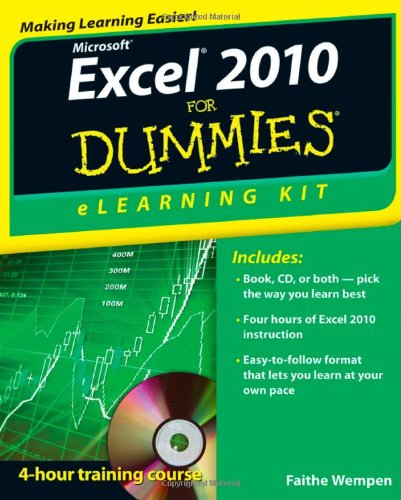Microsoft Excel 2010 for Dummies�   2011 9781118110799 Front Cover