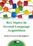 Key Topics in Second Language Acquisition   2014 edition cover