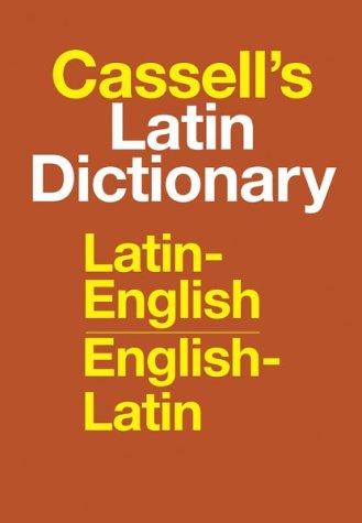 Cassell's Latin Dictionary Latin-English, English-Latin  1968 edition cover