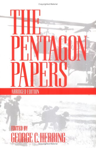 Pentagon Papers   1993 (Abridged) edition cover
