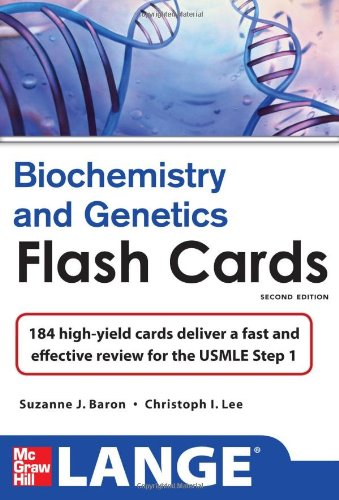 Biochemistry and Genetics  2nd 2013 edition cover