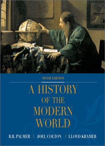 History of the Modern World with PowerWeb 9th 2002 (Revised) edition cover