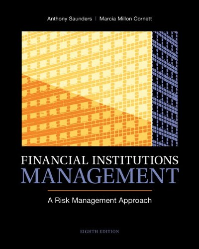 Financial Institutions Management A Risk Management Approach 8th 2014 9780078034800 Front Cover