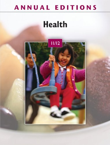 Annual Editions: Health 11/12  32nd 2011 edition cover