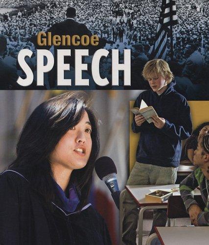 Glencoe Speech, Student Edition  4th 2009 edition cover