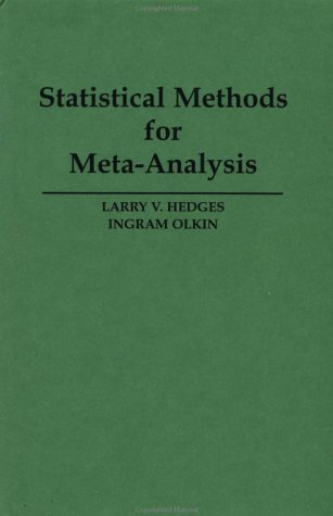 Statistical Method for Meta-Analysis  N/A 9780123363800 Front Cover