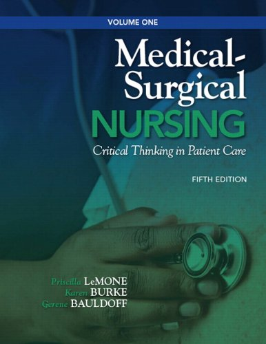 Medical-Surgical Nursing Critical Thinking in Patient Care 5th 2011 edition cover
