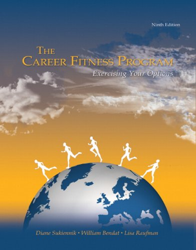 Career Fitness Program The Exercising Your Options 9th 2010 edition cover