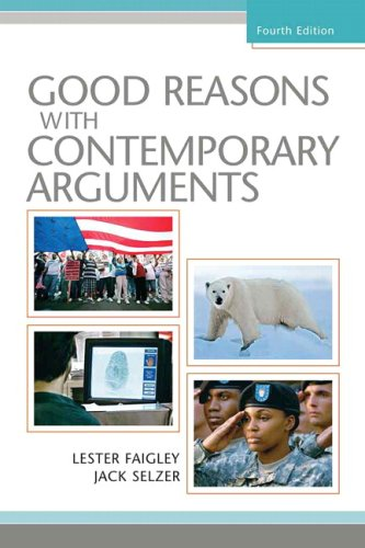 Good Reasons with Contemporary Arguments  4th 2009 edition cover