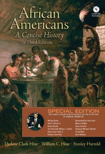 African Americans A Concise History 3rd 2010 (Special) edition cover
