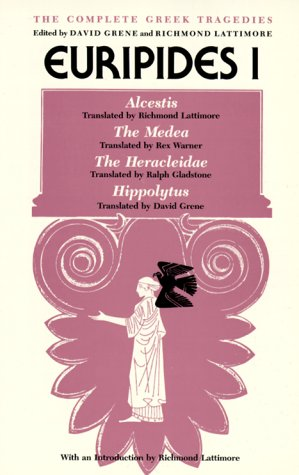Complete Greek Tragedies Euripides I 2nd 1955 (Reprint) edition cover