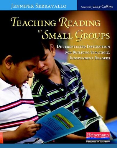 Teaching Reading in Small Groups Differentiated Instruction for Building Strategic, Independent Readers  2010 edition cover