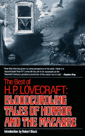 Best of H. P. Lovecraft Bloodcurdling Tales of Horror and the Macabre  1982 edition cover