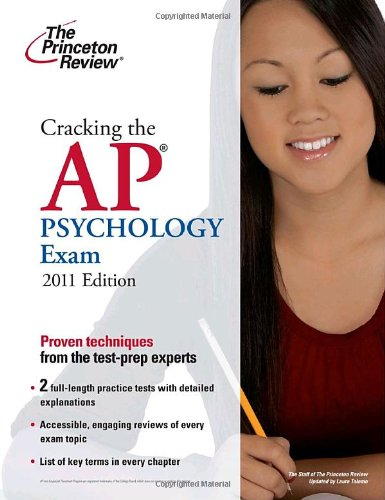 Cracking the AP Psychology Exam, 2011 Edition  N/A 9780375427800 Front Cover