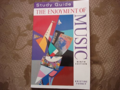 Enjoyment of Music 9th 1999 (Student Manual, Study Guide, etc.) 9780393979800 Front Cover