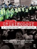 Criminology A Sociological Introduction 3rd 2014 (Revised) edition cover