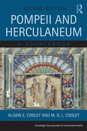 Pompeii and Herculaneum A Sourcebook 2nd 2014 (Revised) edition cover