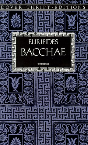 Bacchae   1997 (Reprint) edition cover