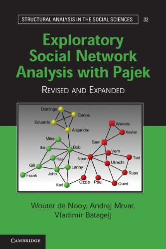 Exploratory Social Network Analysis with Pajek  2nd 2011 (Revised) edition cover