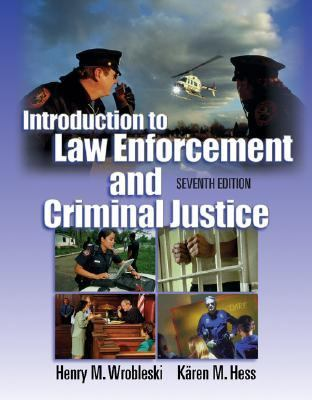 Introduction to Law Enforcement and Criminal Justice  7th 2003 9780534552800 Front Cover