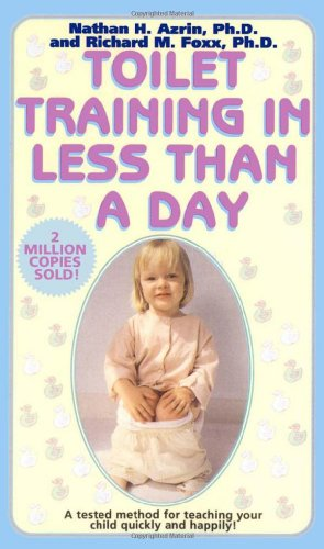 Toilet Training in Less Than a Day   1974 9780671693800 Front Cover