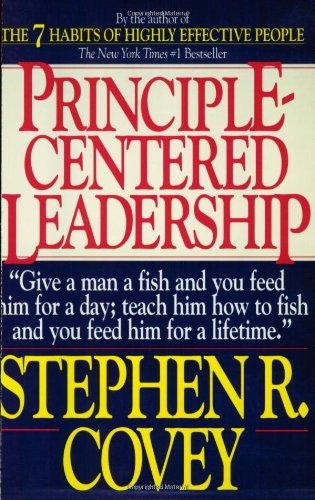 Principle-Centered Leadership   1991 edition cover
