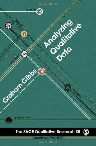 Analysing Qualitative Data   2008 edition cover
