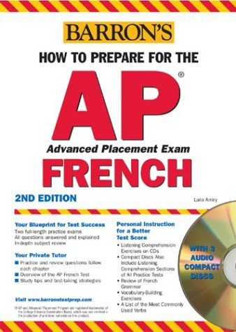 How to Prepare for the AP French  2nd 2004 edition cover