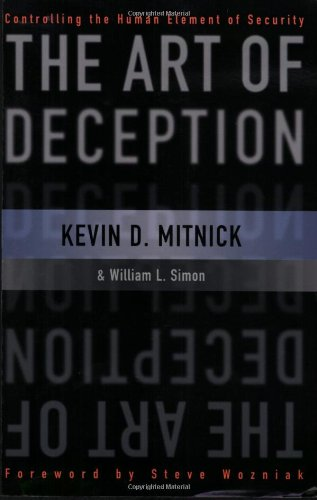 Art of Deception Controlling the Human Element of Security  2004 edition cover
