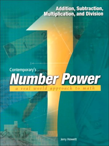 Contemporary's Number Power Addition, Subtraction, Multiplication, and Division 2nd 2000 edition cover