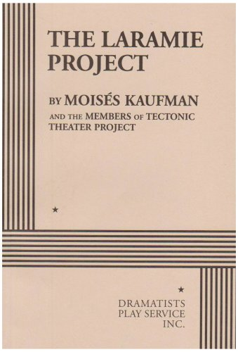 Laramie Project  N/A 9780822217800 Front Cover