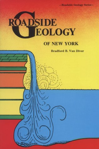 Roadside Geology of New York  1985 edition cover