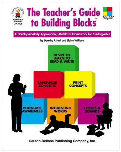 Teacher's Guide to Building Blocks A Developmentally Appropriate, Multilevel Framework for Kindergarten  1999 (Teachers Edition, Instructors Manual, etc.) edition cover