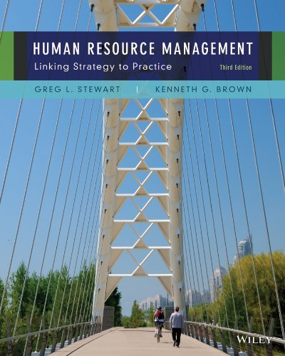 Human Resource Management  3rd 2014 edition cover