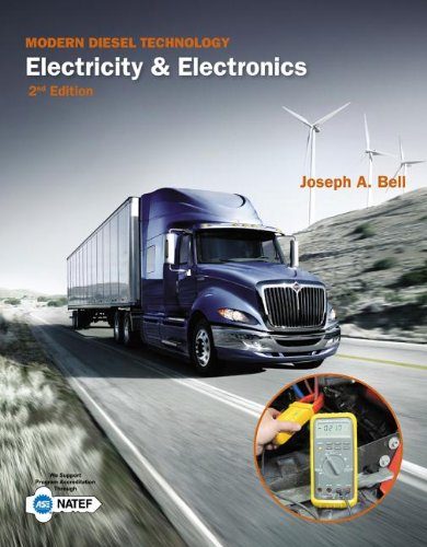 Modern Diesel Technology: Electricity and Electronics  2013 9781133949800 Front Cover