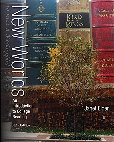 New Worlds: an Introduction to College Reading W/ Connect Reading 3. 0 Access Card  5th 2014 9781259683800 Front Cover