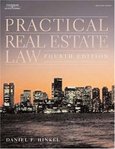 Practical Real Estate Law  4th 2004 9781401817800 Front Cover