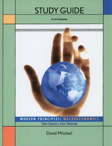 Modern Principles - Macroeconomics   2010 edition cover
