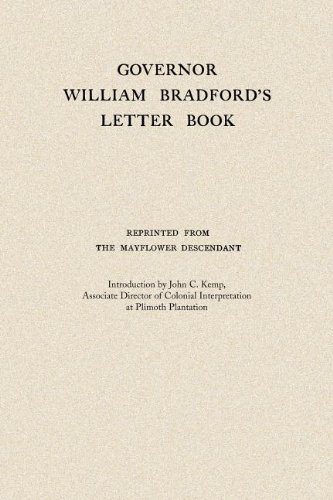 Governor William Bradford's Letter Book  N/A 9781557095800 Front Cover