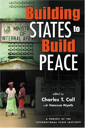 Building States to Build Peace   2006 edition cover