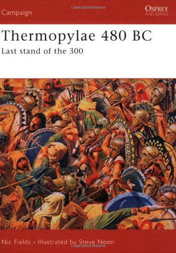 Thermopylae 480 BC Last Stand of The 300  2007 edition cover