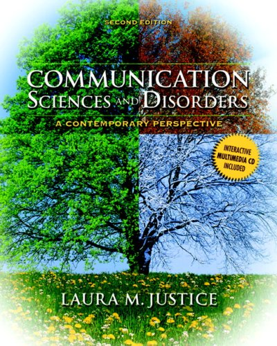 Communication Sciences and Disorders A Contemporary Perspective 2nd 2010 edition cover