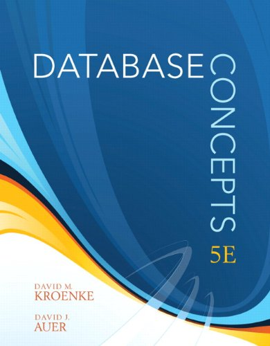Database Concepts  5th 2011 edition cover