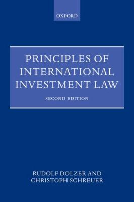 Principles of International Investment Law  2nd 2012 edition cover